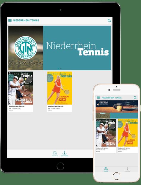 Niederrhein Tennis App